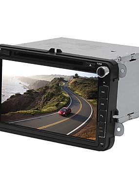 preiswerte Automobil-Factory OEM YYD-V8000 8 Zoll 2 Din Windows CE 6.0 In-Schlag DVD-Player GPS / Integriertes Bluetooth / Lenkrad-Steuerung für Volkswagen RCA / Audio / AV out Unterstützung M3V / MTV / RM / RMVB MP3