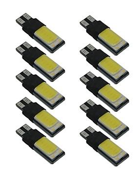 preiswerte Automobil-10 Stück T10 Auto Leuchtbirnen 6 W COB 330 lm LED Seitenmarkierungsleuchten Für