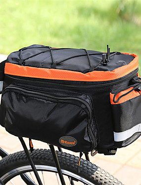 cheap Sports & Outdoors-10 L Bike Panniers Bag Waterproof Lightweight Shock Absorption Bike Bag Terylene Nylon Bicycle Bag Cycle Bag / Reflective Strips