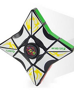 preiswerte Juguetes novedosos-Neuheit 3. Ordnung Rubiks Würfel-Kreisel-Puzzle Dekompressionsspielzeug Fingerspitzenkreisel Kinderspielzeug
