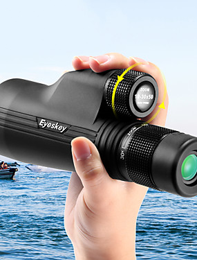 cheap Sports & Outdoors-Eyeskey 10-30 X 50 mm Monocular Roof Outdoor Wear-Resistant Easy Carrying Fully Multi-coated BAK4 Hunting Hiking Outdoor Exercise Spectralite Coating Aluminium Alloy / Bird watching