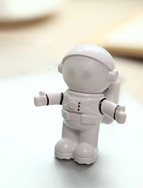 preiswerte Juguetes novedosos-neuheit usb astronaut spaceman führte einstellbares nachtlicht für desktop laptop pc lampe kreative flexible usb led lampe