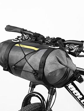 cheap Sports & Outdoors-14-15 L Waterproof Bike Handlebar Bag Waterproof Cycling Wearable Bike Bag Waterproof Fabric 600D Ripstop Bicycle Bag Cycle Bag Cycling Outdoor Exercise Scooter