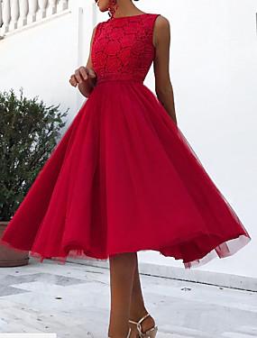 levne Party noc-dámské košile šaty červené s m l xl