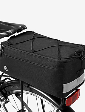 cheap Sports & Outdoors-SAHOO 8 L Bike Rack Bag Cycling Outdoor Durable Bike Bag 600D Ripstop Bicycle Bag Cycle Bag Cycling Outdoor Exercise Scooter