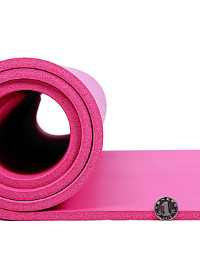 "cheap Sports & Outdoors-Exercise Mat Gym Mat 4"" (10 cm) Diameter Sports Elastic Waterproof Material Yoga Gym Workout Dancing Water Resistant / Waterproof Water Resistant For All"