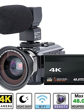 cheap Sports & Outdoors-QQT P13 vlogging Removable / Party / Hot Sale 64 GB 1080P / 60fps / 120fps 16 mp 8x 1920 x 1080 Pixel 4.1 inch 16.0MP CMOS H.264 Single Shot / Burst Mode / Time-lapse No -4/3