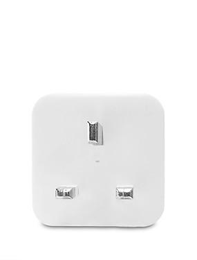 preiswerte Tuya App-WAZA Smart Plug für Neuheiten für die Küche / Wohnzimmer / Schlafzimmer APP-Steuerung / Sprachsteuerung Wifi 110-240 V