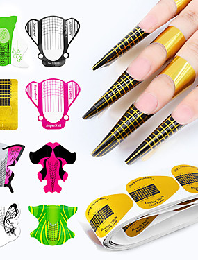 levne Ostatní díly-100ks Pro Nehet na ruce Nejlepší kvalita nail art manikúra pedikúra Jedinečný design Denní