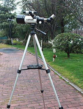 cheap Sports & Outdoors-LUXUN® 16-40 X 70 mm Telescopes Porro Free Assemblement Waterproof Outdoor High Definition BAK4 Camping Outdoor Space / Astronomy Aluminium / Hunting / Bird watching