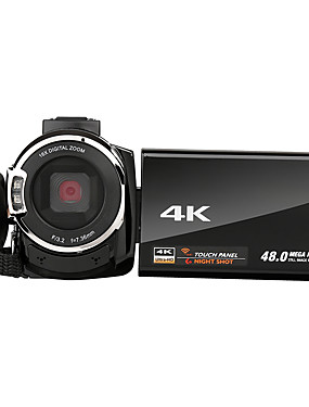 cheap Sports & Outdoors-QQT V13-1 vlogging Quick Charging / Easy to Carry / Multi Function 64 GB 1080P / 60fps 16 mp 8x 1920 x 1080 Pixel 4.1 inch 16.0MP CMOS H.264 Single Shot / Burst Mode / Time-lapse No -4/3