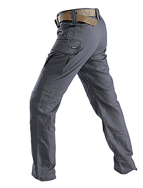 cheap Sports & Outdoors-Men's Hiking Pants Hiking Cargo Pants Tactical Pants Summer Winter Outdoor Breathable Warm Quick Dry Cotton Pants / Trousers Fishing Climbing Camping / Hiking / Caving Grey Khaki S M L XL XXL - Esdy