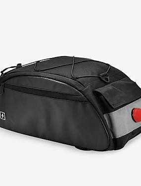 cheap Sports & Outdoors-SAHOO 10 L Bike Rack Bag Cycling Outdoor Durable Bike Bag Terylene Bicycle Bag Cycle Bag Cycling Outdoor Exercise Scooter