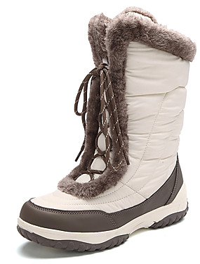 cheap Sports & Outdoors-Women's Snow Boots Winter Boots Cowsuede Leather Nylon Ski / Snowboard Downhill Waterproof Anti-Slip Winter
