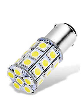 billige Reversering lys-1 stk ba15d 1142 1076 1176 ledede bilpærer 12-24v 5050 27 smd hvit for bakover baklys baklys baklys