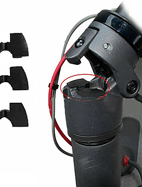 cheap Named Brands-Rubber Scooter Modification Parts Vibration Damper For Xiaomi Mijia M365 3pcs