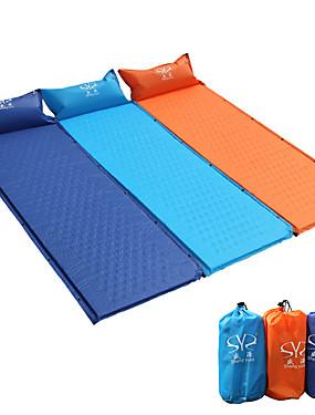 cheap Sports & Outdoors-Sheng yuan Sleeping Pad Self-Inflating Sleeping Pad Air Pad Make It Double Outdoor Camping Portable Heat Insulation Moistureproof PVC(PolyVinyl Chloride) PVC Tarpaulin 185*65 cm Hiking Camping