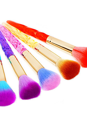 voordelige Nagelborstels-1pc Muovi Stofborstels Voor Vingernagel Teennagel Beste kwaliteit Message Series Nagel kunst Manicure pedicure Stijlvol Dagelijks