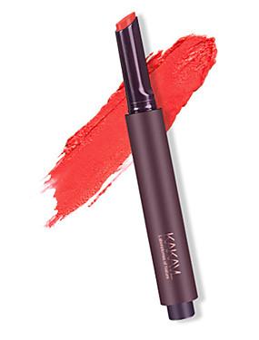 preiswerte Lippenstifte-1 pcs 8 Farben Alltag Make-up Einfache / Tragen / Einfach zu tragen Nass Tragbar / Lässig / Alltäglich Tragbar / Modisch Bilden Kosmetikum Pflegezubehör
