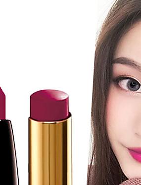preiswerte Lippenstifte-1 pcs 8 Farben Alltag Make-up Einfache / Tragen / Einfach zu tragen Nass / Matt Tragbar / Multi-Funktion / Lässig / Alltäglich Tragbar / Modisch Bilden Kosmetikum Pflegezubehör