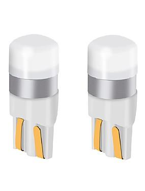 preiswerte Automobil-2 stücke t10 w5w auto led glühbirne 9v-24v 200lm ultra helle led lampe kennzeichenbeleuchtung / blinker lichter / rücklicht / lampe lampe
