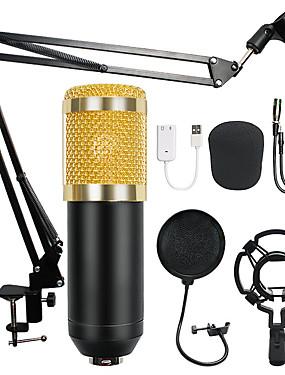preiswerte Audio & Video für Ihr Zuhause-bm-800 kondensator audio 3,5 mm kabelgebundenes studio mikrofon gesangsaufnahme ktv karaoke mikrofon set mic w / ständer für computer