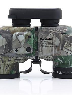 cheap Sports & Outdoors-Boshile 10 X 50 mm Binoculars Range Finder Porro Waterproof High Definition Shock Resistant Fogproof Fully Multi-coated BAK4 Compass Night Vision Rubber Metal / IPX-7 / Hunting / Bird watching