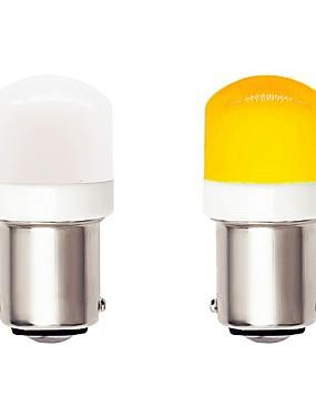 povoljno Svjetla za vožnju unatrag-2kom 1156 ba15s auto auto vodio žarulje 4.5w 9-30v 3030 smd 6 vodio bijela žuta za pokazivač smjera drl svjetlo za maglu kočiono svjetlo