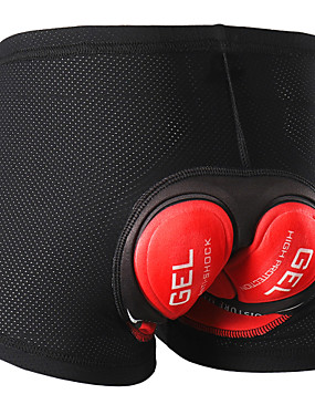 voordelige Sport & Buiten-Arsuxeo Heren Wielrenondershorts Fietsen Gewatteerde shorts 3D Pad Sport Polyester Spandex Rood / Groen Kleding Wielrenkleding / Rekbaar
