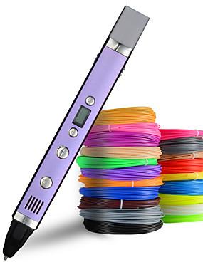 preiswerte Elektronik & Werkzeuge-myriwell 1,75 mm abs / pla diy 3d stift led bildschirm, usb lade 3d druck stift kreative spielzeug geschenk für kinder design