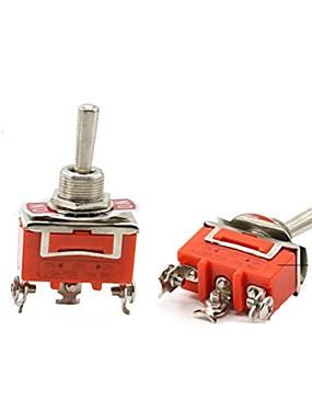 preiswerte Werkzeug & Ausrüstung-e-ten1122 einpolig doppelwurf kippschalter kippschalter / wippkopf (2 stücke)