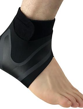 preiswerte Sport Stützen-Knöchelbandage für Laufen Fitnesstraining Rutschfest Wasserdicht Waschbar Natürliches Gummi 1 Stück Sport Schwarz