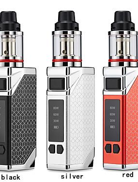 preiswerte Neue im Sortiment-Lexintong neueste vape box mod kit e-zigarette mod 80 watt mods vape 0,35 ohm spule 2,8 ml tank dampf vapeador e cig