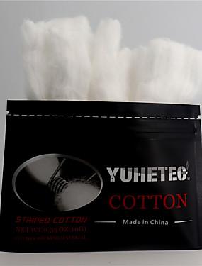 preiswerte Neue im Sortiment-yuhetec Baumwolle für rda rba rta rdta Zerstäuber elektronische rauchführende Ölwolle Zubehör elektronische Zigarette