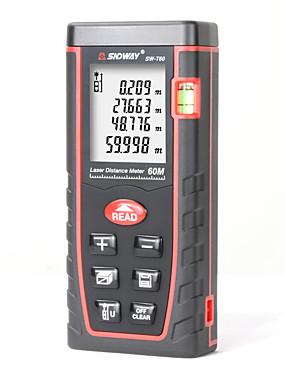 preiswerte Elektronik & Werkzeuge-digitaler laser entfernungsmesser entfernungsmesser 60m sw-t60 entfernungsmesser mit großem lcd display und wasserwaage