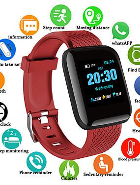 billige Best for APP-D13S Herre Smartklokke Android iOS Bluetooth Vanntett Pekeskjerm Pulsmåler Blodtrykksmåling Sport Pedometer Samtalepåminnelse Aktivitetsmonitor Søvnmonitor Finn min enhet