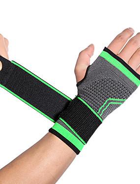 preiswerte Sport Stützen-Hand & Handgelenkschiene für Laufen Draußen Fitnesstraining Rutschsicher Waschbar Anti-Rutsch- Emulsion 1 Stück Sport Athlässigkeit Grün