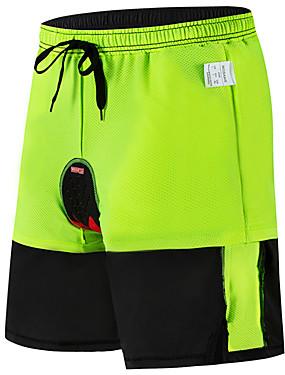 cheap Sports & Outdoors-WOSAWE Men's Cycling Padded Shorts Downhill Shorts Cycling MTB Shorts Bike Padded Shorts / Chamois MTB Shorts Breathable 3D Pad Moisture Wicking Sports Black Mountain Bike MTB Road Bike Cycling