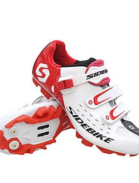 cheap Sports & Outdoors-SIDEBIKE Mountain Bike Shoes Waterproof Breathable Anti-Slip Cycling Black Red Green Men's Cycling Shoes / Cushioning / Ventilation / Cushioning / Ventilation
