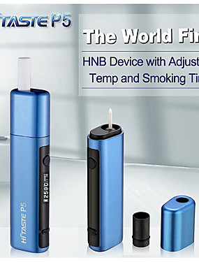 preiswerte Neue im Sortiment-HITASTE® Hitaste P5 Heat Starter Kit Automatic Cleaning Holder 1 Stücke Dampfsets Vape  Elektronische Zigarette for Erwachsener