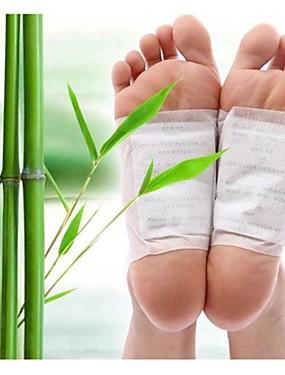 preiswerte Fussmassagegerät-10 Stück Ingwer Salz kiyeski Marke Detoxfußauflagen Patches Fuß Gesundheits