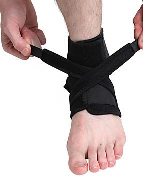 preiswerte Sport Stützen-Knöchelbandage für Laufen Fitnesstraining Waschbar Nylon Lycra Spandex 1 Stück Sport Schwarz