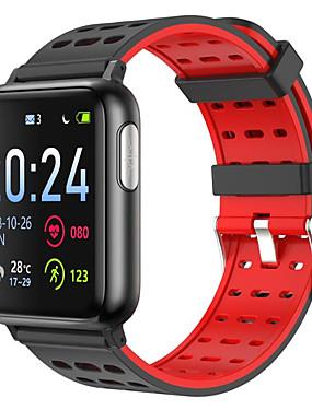preiswerte Intelligente Elektronik-v5 ecg ppg spo2 smart watch blutdruck sauerstoff sport band pulsmesser männer frauen smartwatch