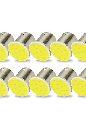 povoljno Svjetla za vožnju unatrag-10pcs 1156 Motor / Automobil Žarulje 2 W COB LED Žmigavac svjetlo / Stop-svjetla / Svjetla za vožnju unatrag (backup) Za Univerzális Sve godine