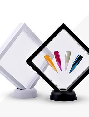 levne Ostatní díly-1 ks bílé / černé nehty tipy displej stojan držák akryl s pet membrány nehty deigns ukazující deska manikúra nehtů umění nástroje