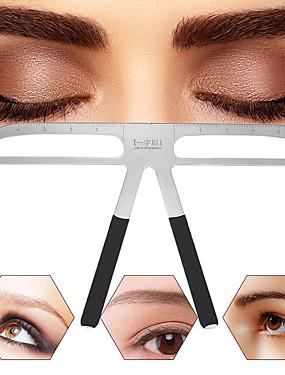 preiswerte Augenbrauen Accessoires-Augenbrauen, die Schablonen formen, die gesetztes Schablonenschönheitswerkzeug des Ausrüstungsverfassungsformers justierbares Verfassungswerkzeug pflegen