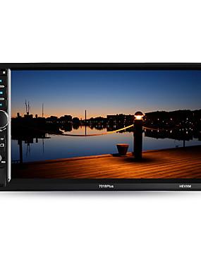 preiswerte Intelligente Welt-hevxm 7018plus 7 Zoll 2 Lärmauto mp5-Spieler-Touch Screen / eingebauter bluetooth / Radio für Universal-bluetooth Unterstützung rm / rmvb / mp4 mp3 / wav Jp / Qualität