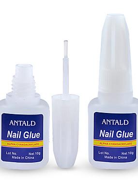 levne Ostatní díly-hot 1 ks 10g falešné nehty tipy lepidlo nail art dekorace s kartáčem falešné nehty lepidlo na nehty nálepky a obtisky manikúra nástroje