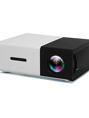 preiswerte Intelligente Welt-yg300 führte tragbaren Projektor 500lm 3.5mm 320x240 Pixel hdmi usb-Miniprojektorausgangsmittel-Spielerunterstützung 1080p