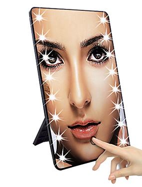 preiswerte Kosmetikspiegel-LED-Touchscreen-Kosmetikspiegel mit LED-Leuchten verstellbarer Waschtisch-Kosmetikspiegel